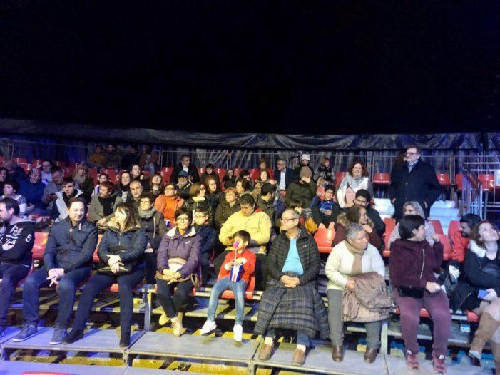 El Circus Kaos acomiada la seua programació a Torrent amb un espectacle solidari