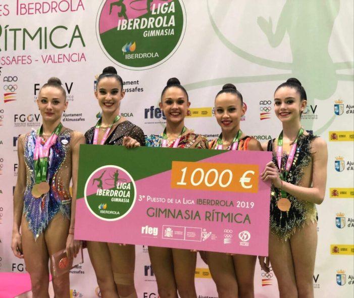 El Club de Gimnàstica Rítmica l'Almara finalitza 2019 collint grans èxits esportius