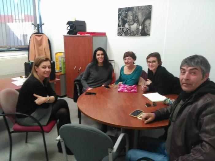 Entrevista de representants de l'Aliança per l'Emergència Climàtica amb la regidora de Paterna Nuria Campos