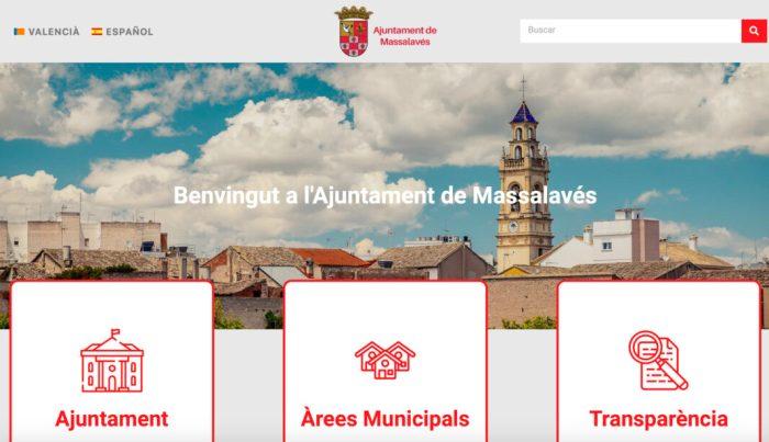 Massalavés enforteix la transparència amb la seua renovada web municipal