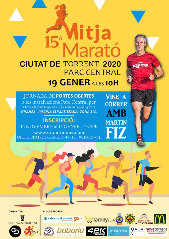 Martín Fiz correrà en la Mitja Marató Ciutat de Torrent