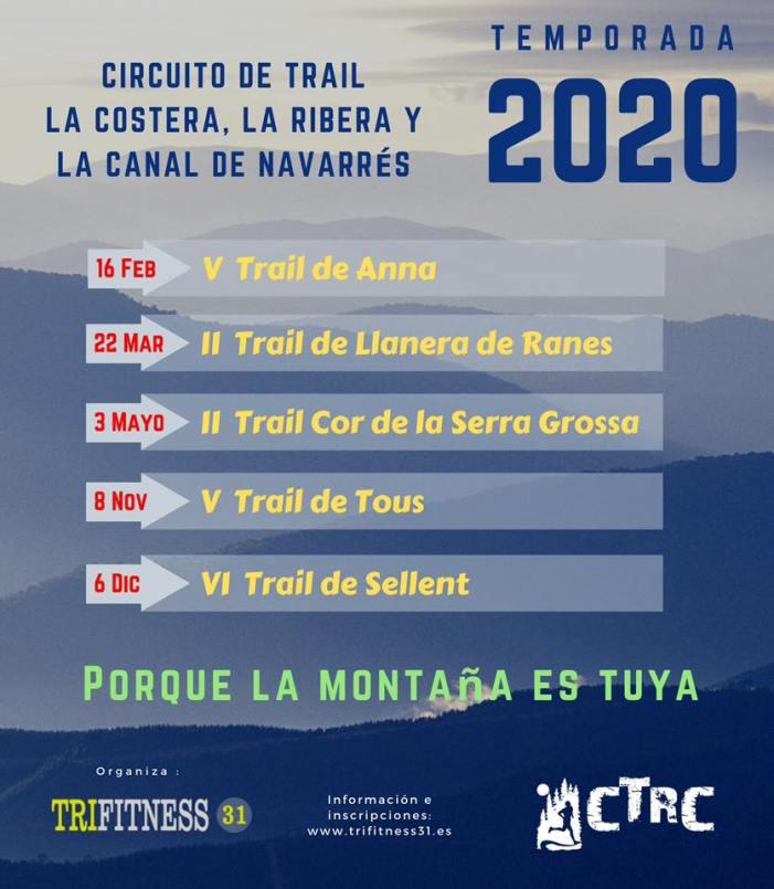 Sellent i Tous tornaran a acollir cites del Circuit Comarcal de Trail