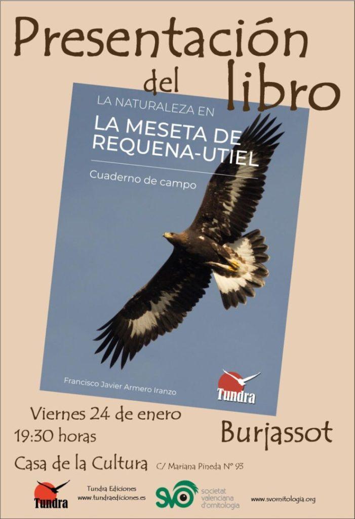 La Societat Valenciana d'Ornitologia presenta un nou llibre a Burjassot