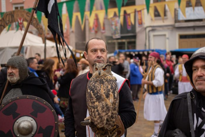 Alfafar celebra la Fira Medieval de Sant Sebastià