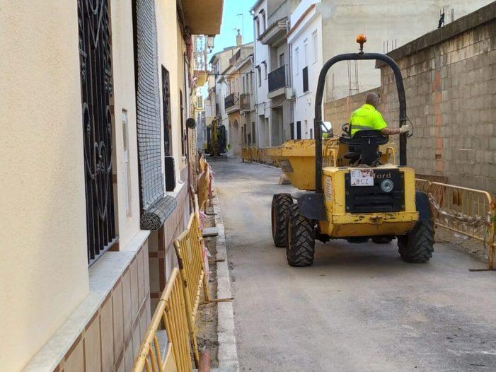 Antella reforma el seu centre històric per a potenciar la zona de vianants