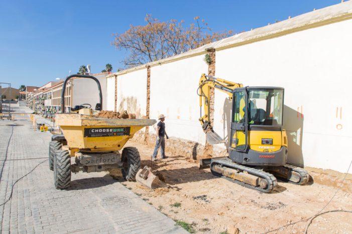 En marxa la construcció de nous nínxols per al Cementeri municipal de Picassent