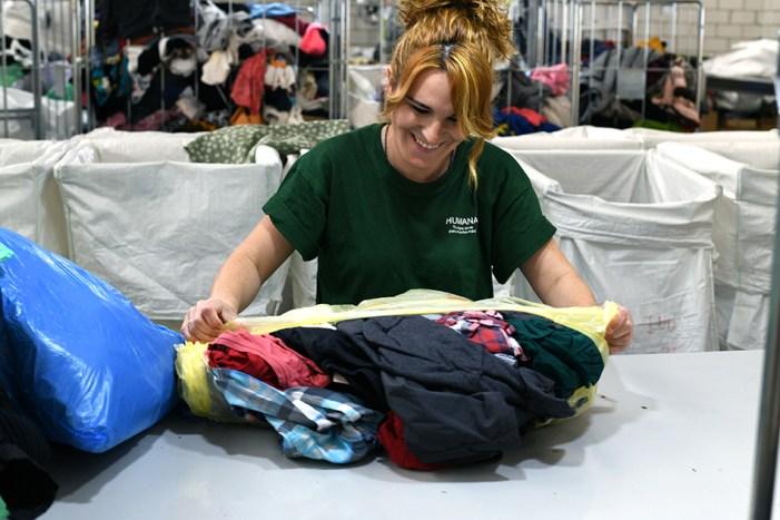 Alboraia s'han recuperat més de 36 tones de tèxtil per a finalitats socials, un 23% més que l'any anterior