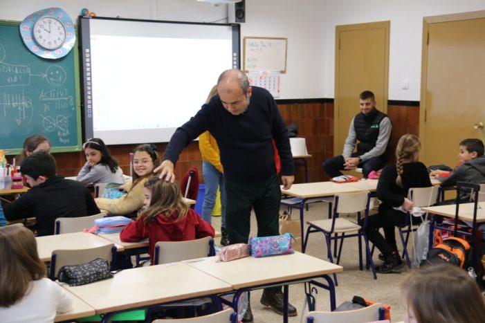 Els  alumnes  de  l'Alcúdia reben classes d'educació vial