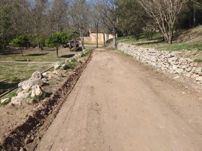 Finalitzen les obres a les pistes forestals de la Murta i la Casella  a Alzira