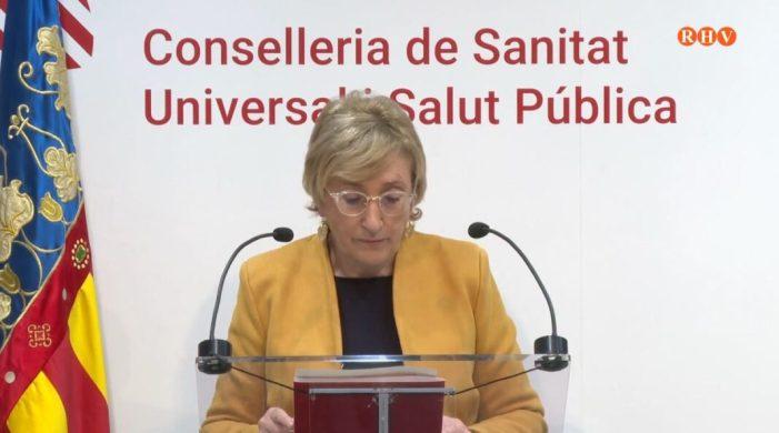 Els casos de COVID-19 a la Comunitat Valenciana ascendeixen a 7334 des que va començar la pandèmia