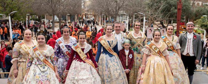 La Crida Fallera d'Almussafes marca l'inici de la festa valenciana per excel·lència