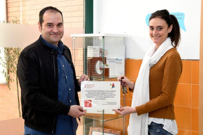 El CEIP Rosa Serrano de Paiporta, exemple de bones pràctiques educatives i de coeducació