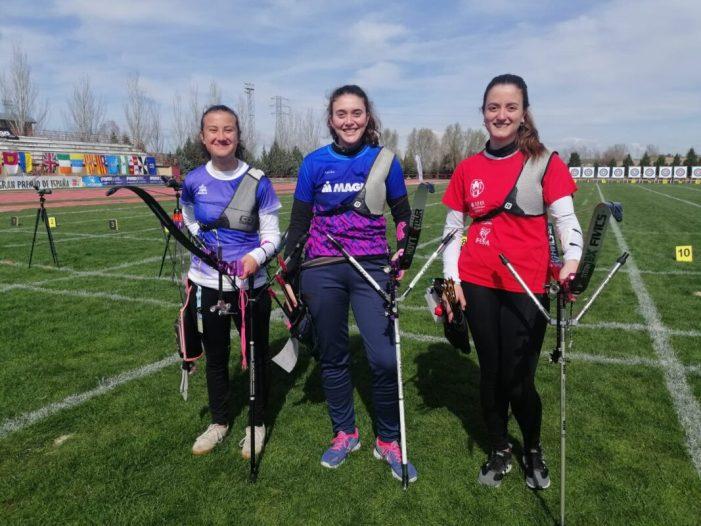 El Club de Tir amb Arc d'Almussafes, tercer en el Gran Premi 'Ciutat de Valladolid' de la Lliga Nacional de Clubs femenina