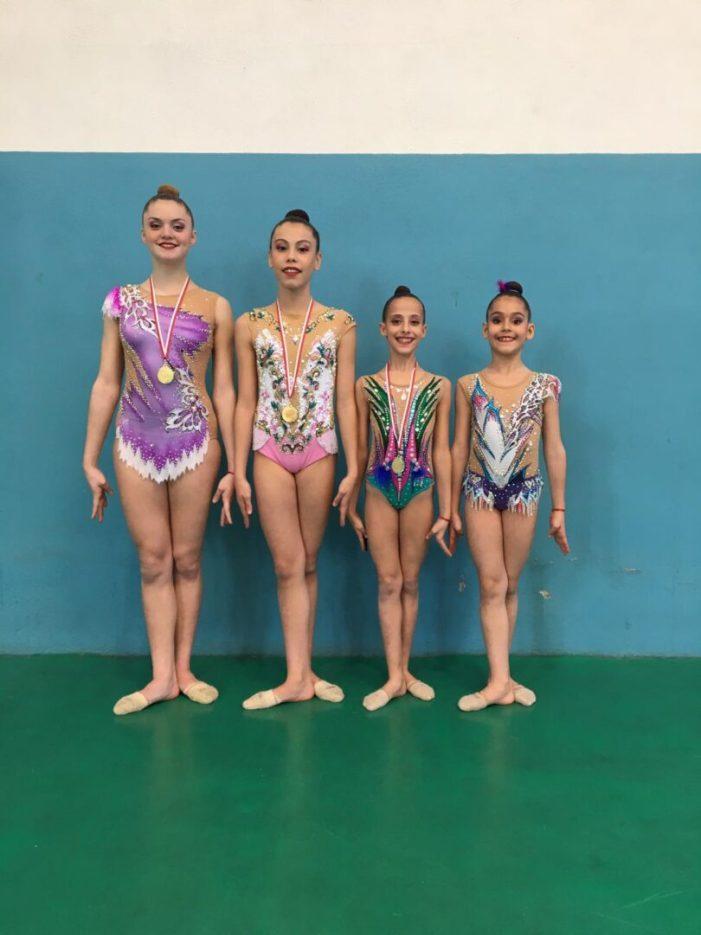 El dissabte es va celebrar a Guadassuar la II fase de Lliga de gimnàstica rítmica.