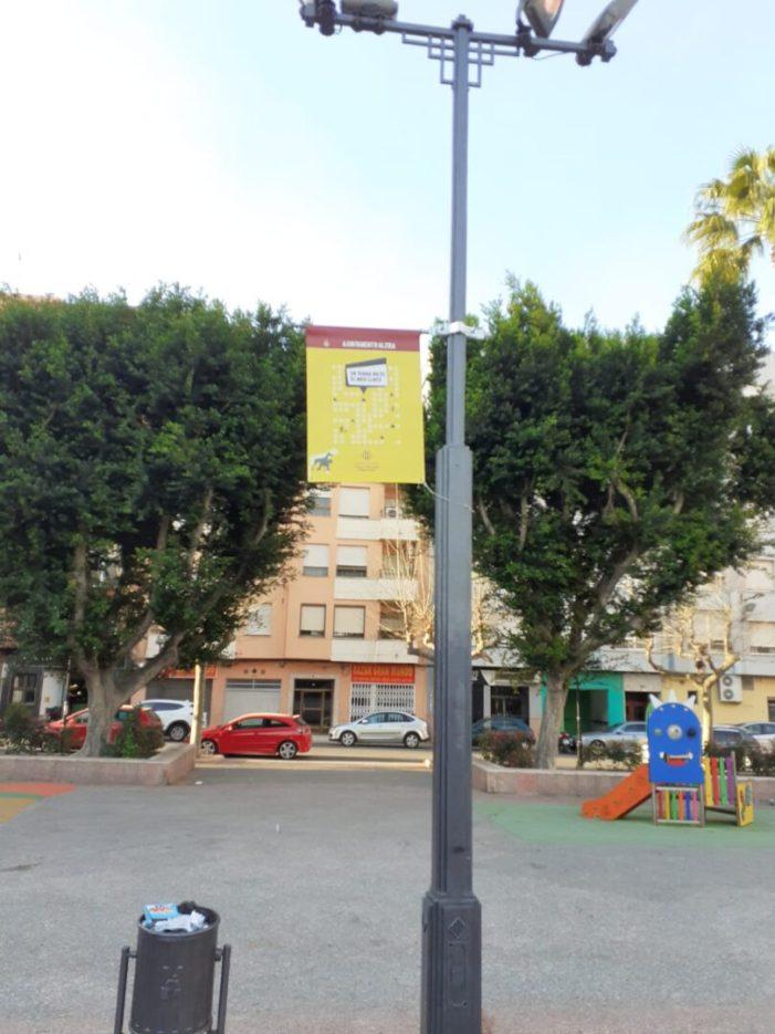 """""""En terra no és el meu lloc"""" continua la campanya de conscienciació per a l'arreplegada d'excrements dels gossos  a Alzira"""