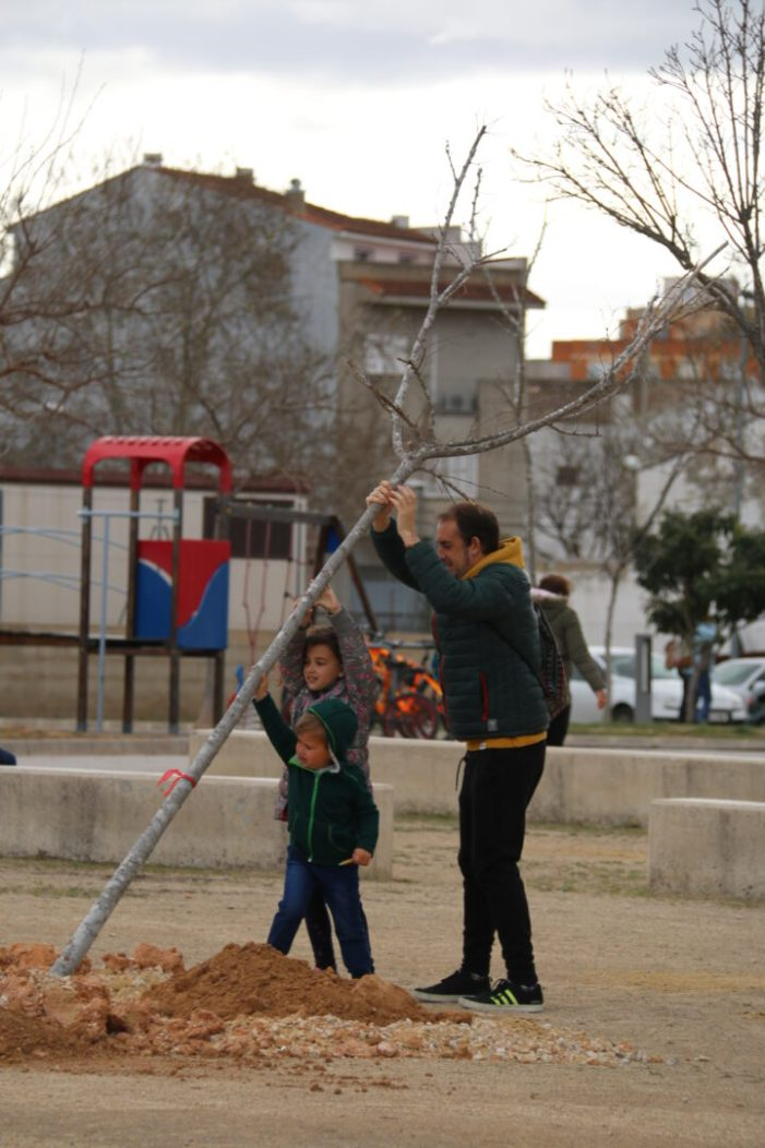 """Dia de l'arbre a l'Alcúdia: Èxit de la campanya """"Adopta un arbre"""""""