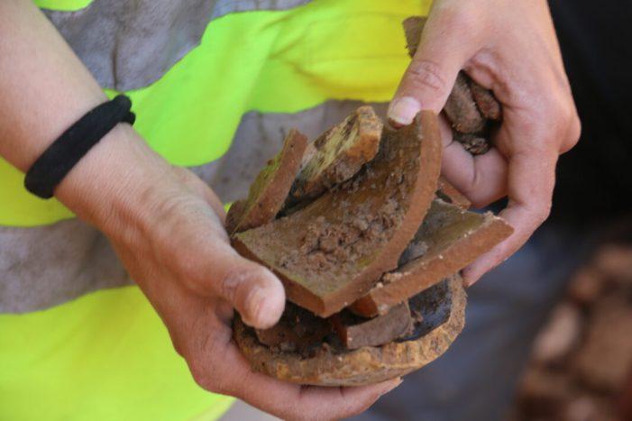 Trobada d'unes restes del segle XV  a l'Alcúdia