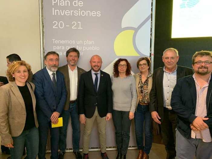 Els huit pobles de la Vall rebran tres milions d'euros amb el nou Pla d'Inversions de la Diputació de València