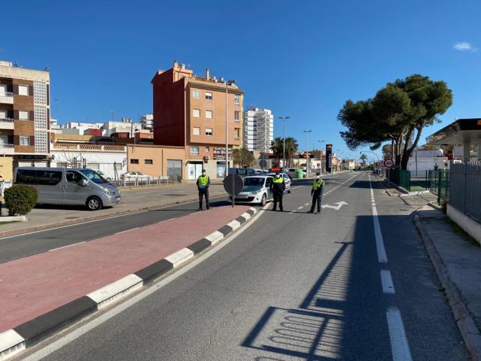 La Policia Local de Sueca agraeix el comportament de la ciutadania i les mostres d'afecte