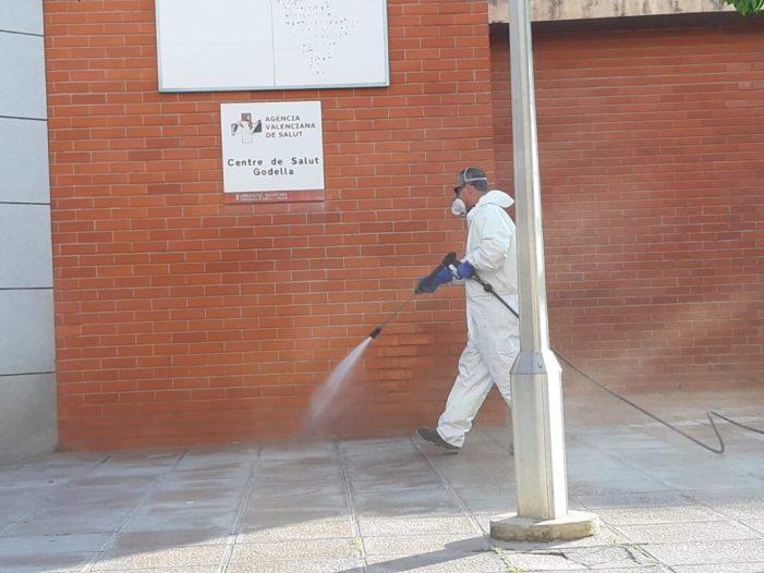 Godella continua amb les labors de desinfecció