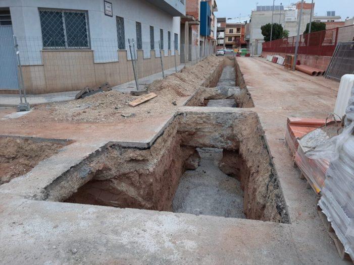 Obres de millora per evitar inundacions, a l'Alcúdia