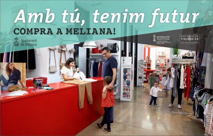 L'Ajuntament de Meliana posa en marxa una campanya de suport al comerç local