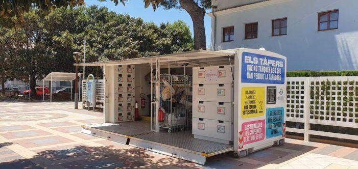Benetússer multiplica el reciclatge en l'ecoparc mòbil de la EMTRE