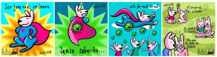 Paiporta se suma a la campanya #JoveResponsable de Joves.net per al foment d'hàbits saludables front al coronaviorus Covid-19