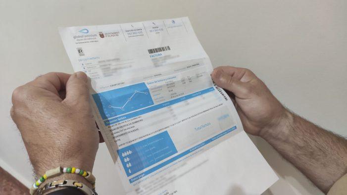 L'Ajuntament d'Alaquàs permetrà ajornar i fraccionar la factura de l'aigua als negocis afectats per la covid-19