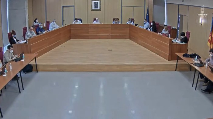 L'Ajuntament d'Alboraia va celebrar ahir un Ple Extraordinari