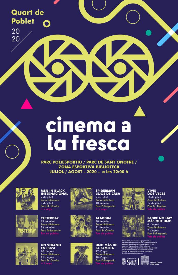 """Arranca el """"Cinema a la fresca"""" a Quart de Poblet"""