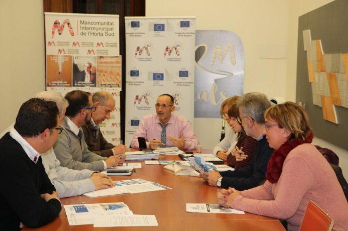 La Mancomunitat de l'Horta Sud s'incorpora a la plataforma europea de promoció de polítiques locals comunes Partenalia