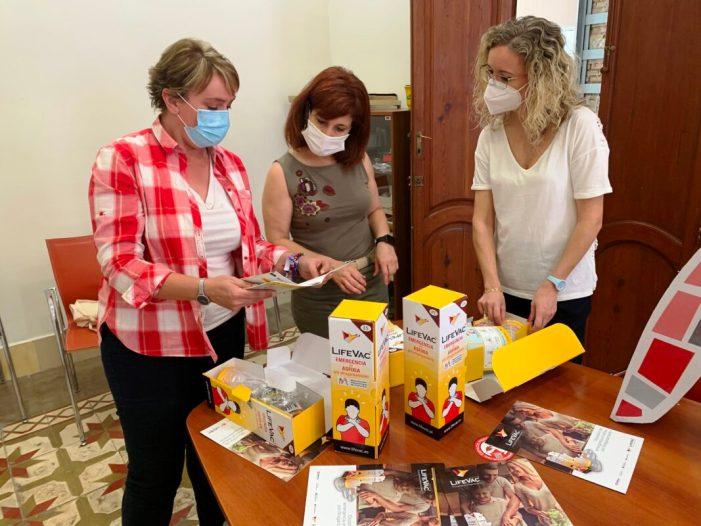 La Mancomunitat de l'Horta Sud distribueix 167 equips anti asfíxia per ennuegada entre els municipis de la comarca