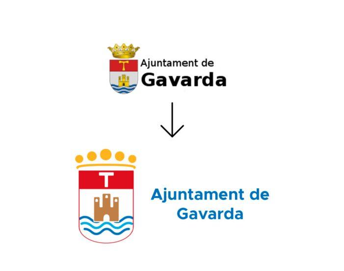 Gavarda renova la seua imatge corporativa i l'adapta a les noves tendències comunicatives