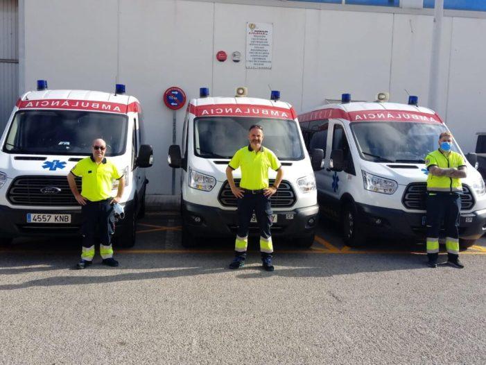 L'Ajuntament d'Alboraia habilita en el municipi una base per a 3 ambulàncies TNA assignats a Ambulancias Edetanas S.L. i al departament Hospital Clínic-Malvarrosa