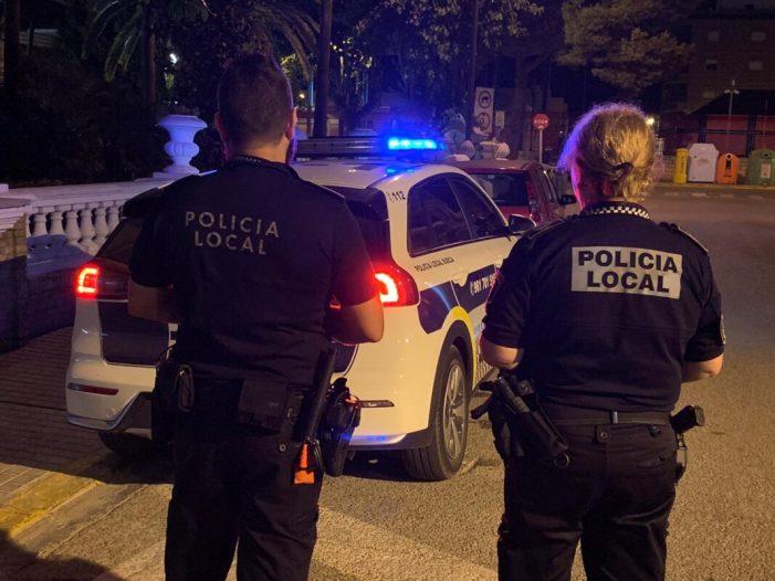 La Policia Local de Sueca s'adapta a les circumstàncies d'este estiu per a garantir la seguretat a la ciutadania