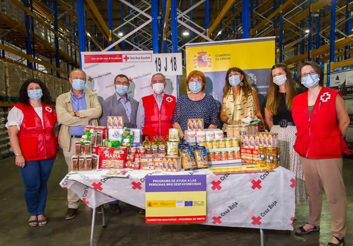 Primera fase del Programa d'Ajuda Alimentària a les persones més desfavorides FEAD 2020