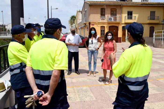 Paiporta incorpora sis efectius del programa d'ocupació per a treballadors agrícoles