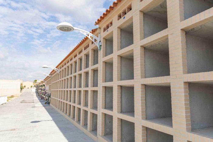 L'Ajuntament de Picassent construeix 84 nous nínxols al Cementeri municipal