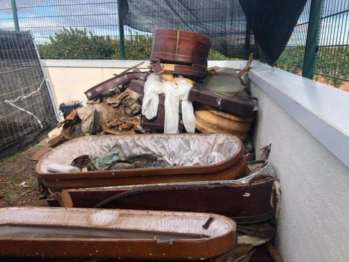 El PP d'Alzira lamenta la mala gestió en el cementeri municipal