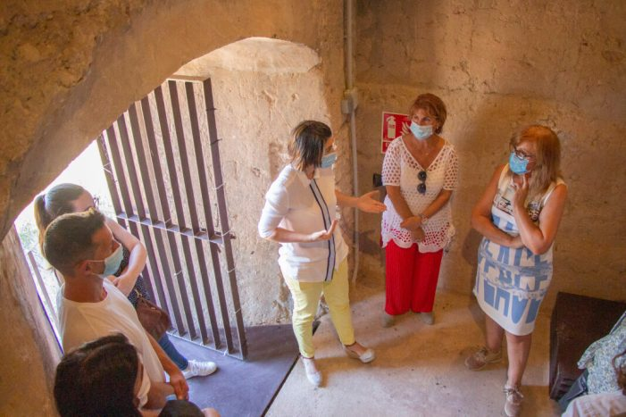Les obres de restauració de la Torre d'Espioca de Picassent encaren la seua recta final