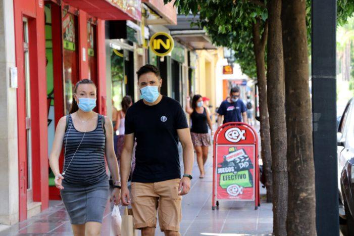 La Policia Local de Torrent alça 150 actes per incomplir les mesures sanitàries de l'ús obligatori de màscares durant l'últim cap de setmana