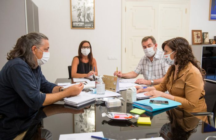 La vicepresidenta Maria Josep Amigó rep al president del Consorci Ribera i Valldigna