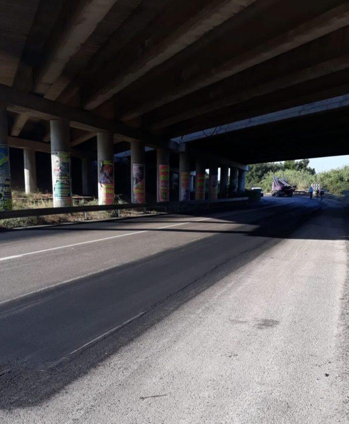 L'Ajuntament d'Almussafes completa treballs d'asfaltat