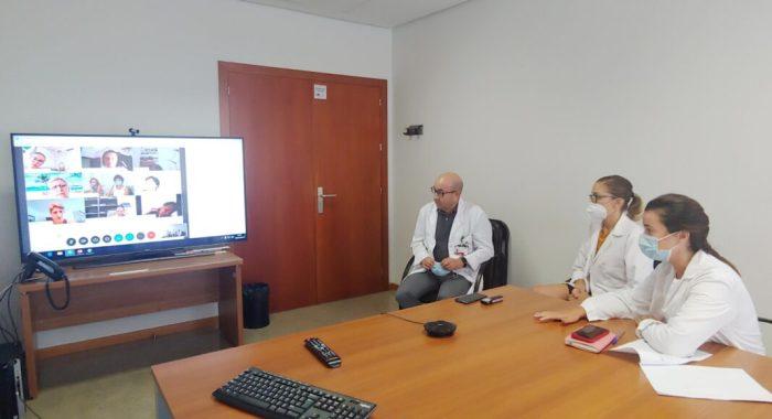 El Departament de Salut de la Ribera forma a les associacions d'Alzheimer en mesures de prevenció enfront del COVID-19