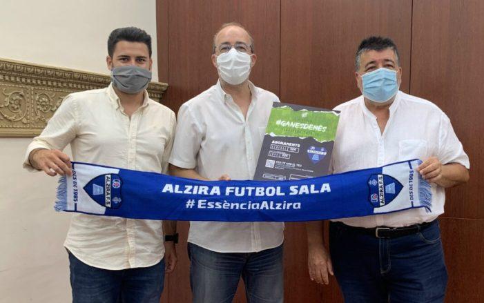 El Family Cash Alzira FS presenta #GanesDeMés per a la 20-21