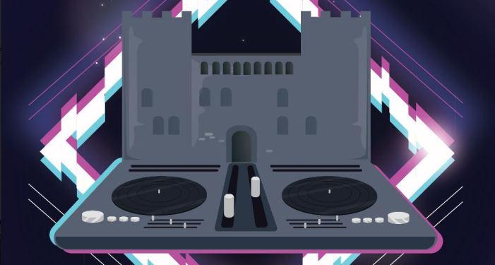 El castell d'alaquàs acull un festival de música electrònica per a conscienciar a la joventut de la importància de l'ús de la mascareta