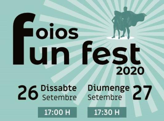 Foios prepara la segona edició del Fun Fest, el festival d'oci educatiu