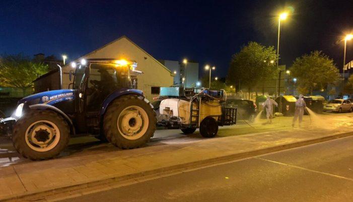 Sueca tornarà a comptar amb la col·laboració del sector agrícola local per a una desinfecció global del seu terme municipal