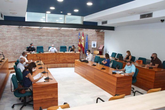 L'Alcalde d'Alaquàs reuneix al Comité Especial de Coordinació d'Emergències per a revisar les actuacions del pla municipal contra inundacions